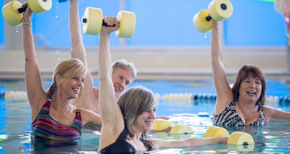 Fitness acuático mes de septiembre