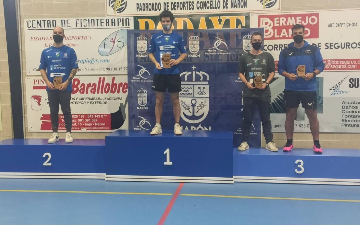 Campeonato Gallego Benjamín - Juvenil - Sénior de Tennis de Mesa