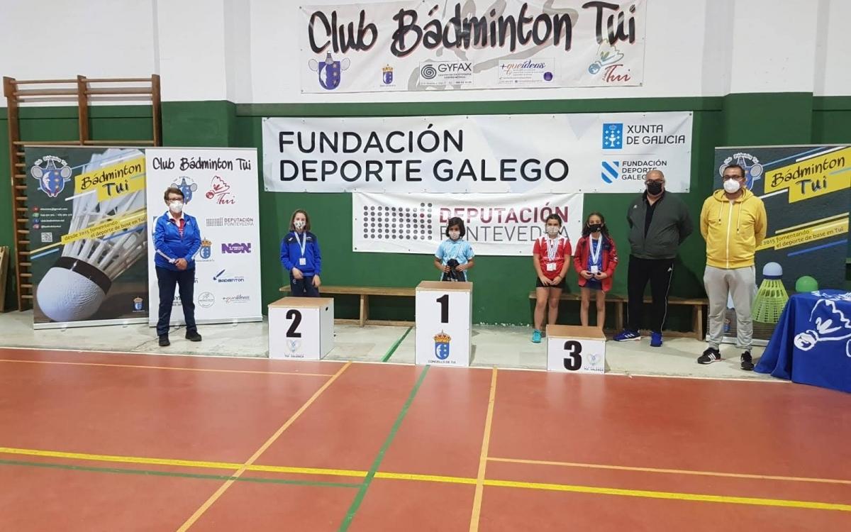 Bádminton: Campeonato Gallego Sub 11