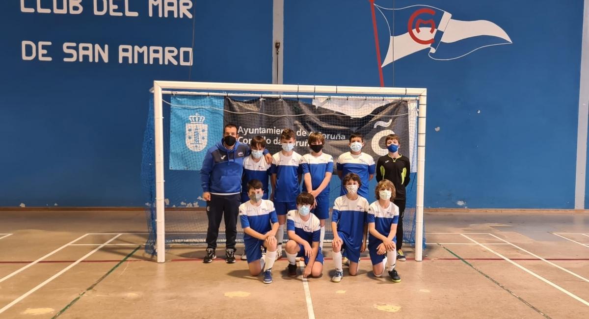 El domingo 26 de septiembre empieza la LIGA GALLEGA para los equipos Alevín e Infantil del Club del Mar de San Amaro de Fútbol Sala