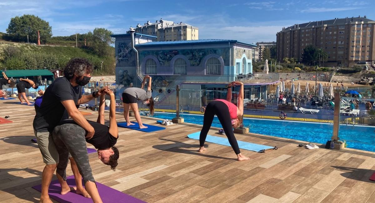 Gran Masterclass de Yoga la vivida hoy con Fede Más Que Yoga