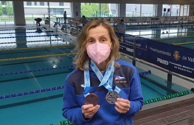 Plata y bronce en el Campeonato de España Máster de Fondo para María del Mar Terceiro