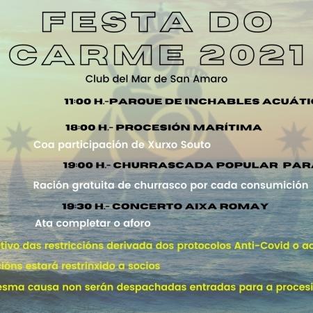 Festividad del Día del Carmen.