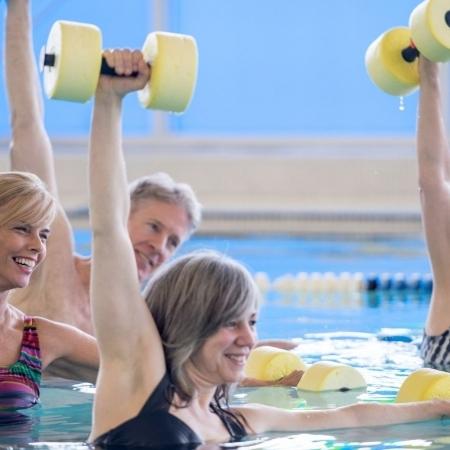 Fitness acuático mes de julio